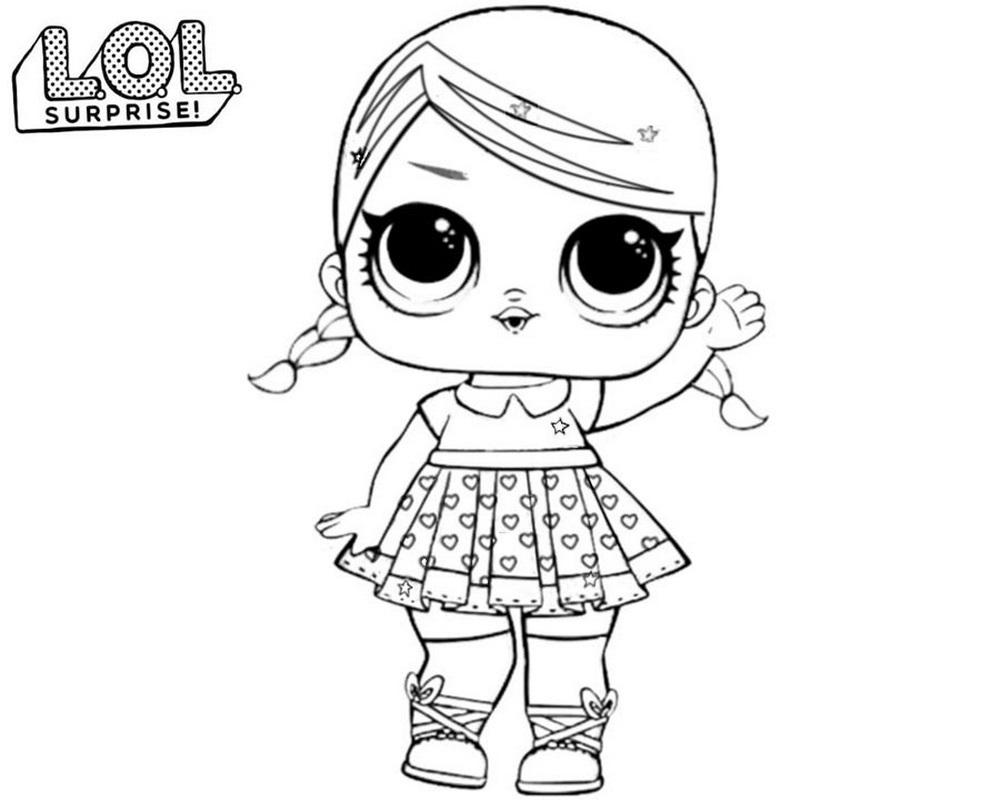 La Doll Serie Para Lol Surprise Colorear¡imprime
