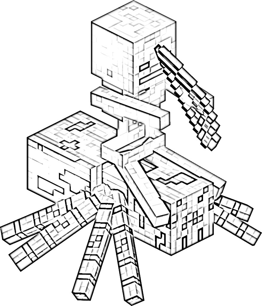 Minecraft Coloring Pages. Print Them For Free! 100