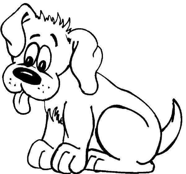 Owalo design Kostenlose Ausmalbilder Hundewelpen