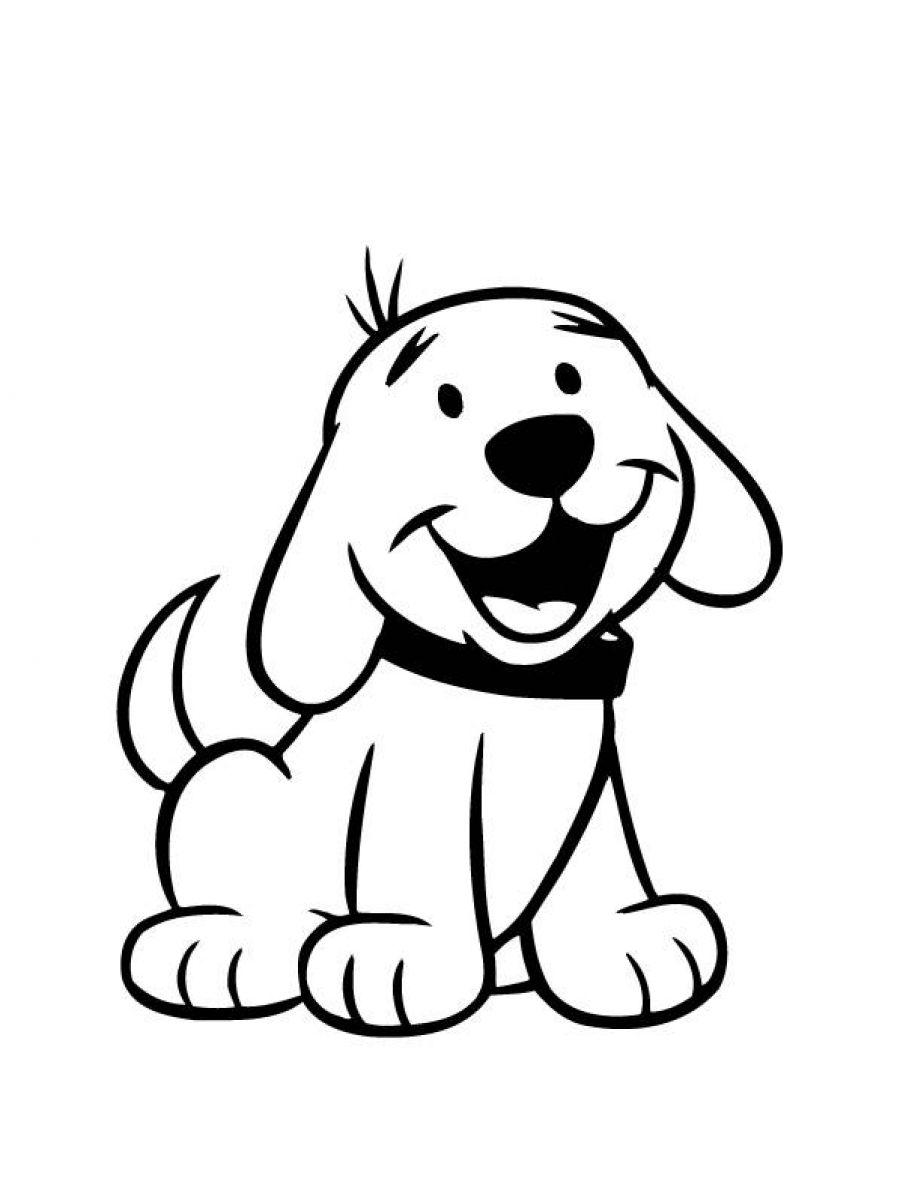 Gratis Malvorlagen Hunde