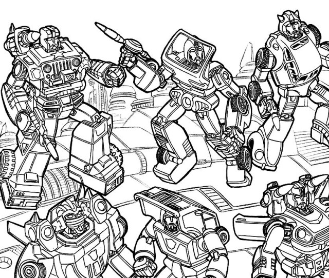 Transformers Coloring Pages Print Or Download For Free For Your Boys