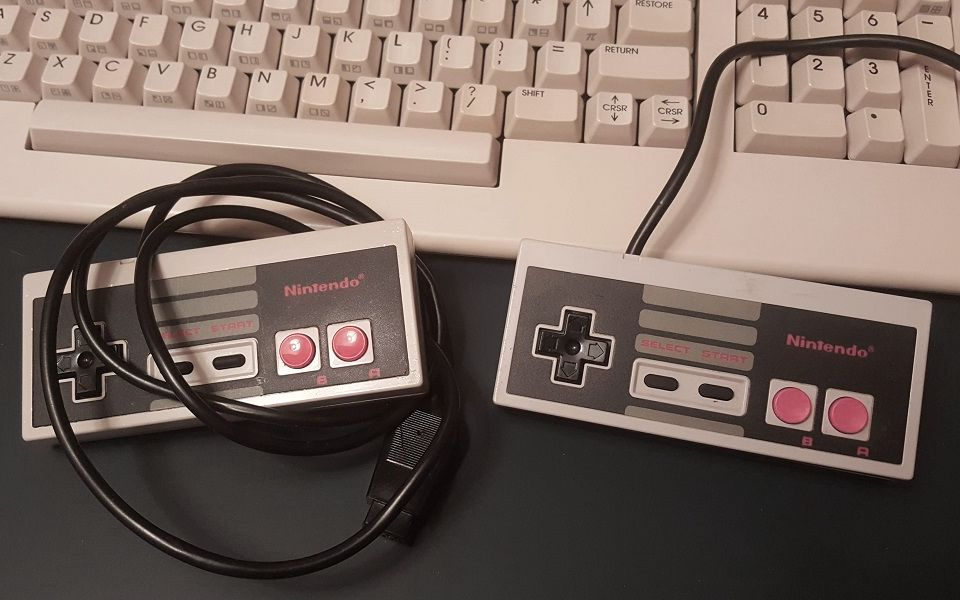 Convert an Original NES Controller for use on Commodore 64, Amiga, Atari, and Many Others!