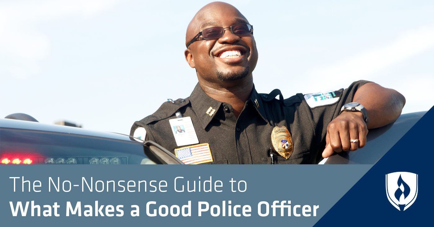 Campus Security Officer Cover Letter The No Nonsense Guide To What Makes A Good Police Officer