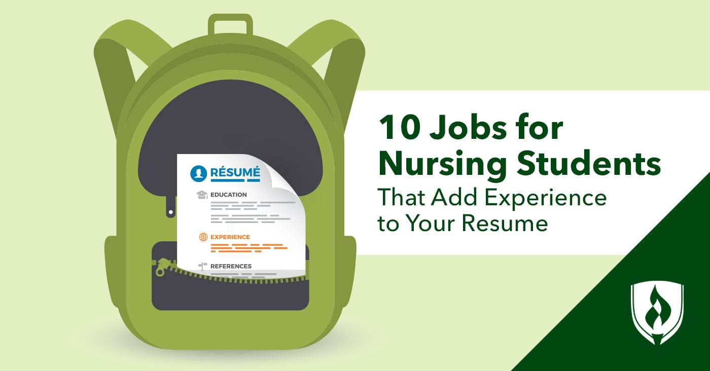 College Sophomore Resume 10 Jobs For Nursing Students That Add Experience To Your Resume