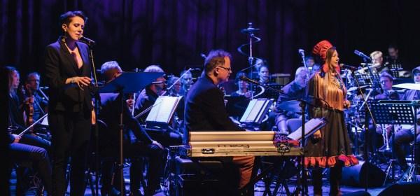 Orchestral Joik, Nordlysfestivalen 2018 opening concert (Photo: Marius Fiskum/Nordlysfestivalen)