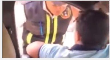 النائب العام يأمر بإيداع الطفل المتعدى على فرد شرطة المرور بدار رعاية وقرار بشأن من كانوا بصحبته