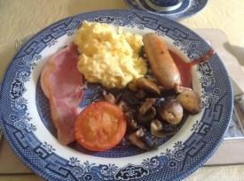 Tipico desayuno inglés