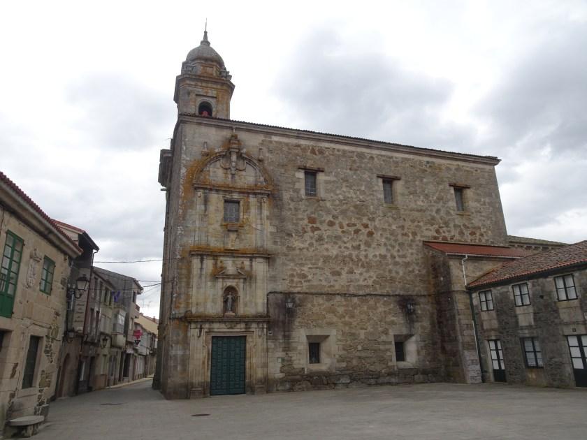 Camino de Santiago Dia 3 Palas de Rei Melide Iglesia San Pedro de Melide