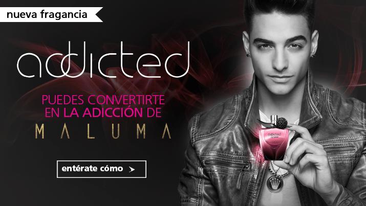 Maluma, de la mano de Cyzone llega a México para presentar: Addicted, la nueva fragancia de la seducción