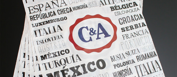 Bolsas 100% recicladas, nueva acción de C&A