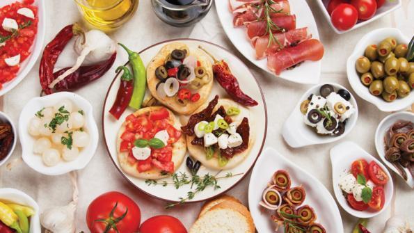 ¡A probar! La dieta mediterránea