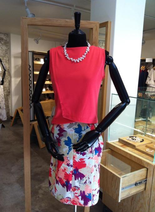 Outfit RH_1 (blusa y falda)