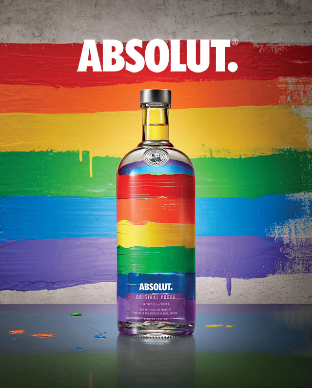 Absolut lanza la nueva edición Absolut Rainbow en México
