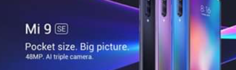 Xiaomi presenta el Mi 9 SE de gama alta en México, compacto pero poderoso