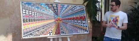 Corona regala a los mexicanos un mural de Pedro Friedeberg
