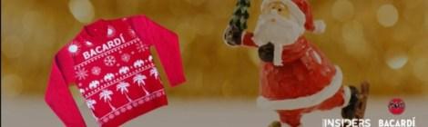 Durante esta temporada decembrina Bacardí impulsa una causa social a través de sus Ugly Sweaters