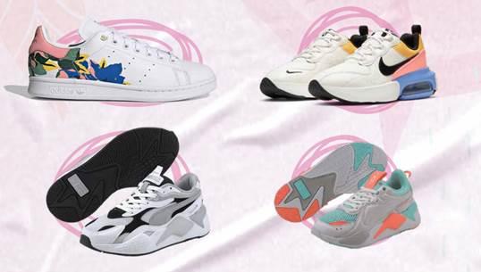 Siluetas de Sneakers para la mamá cool que más allá de la comodidad, busca estar en tendencia