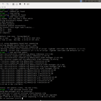 Terminal SSH Raspberry Pi