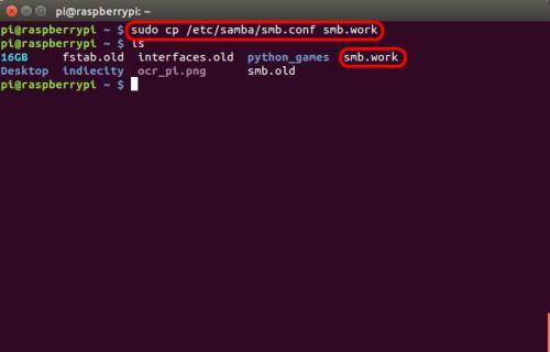 optimizar SAMBA  NAS o servidor casero en la Raspberry Pi 01