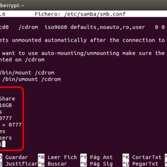 Instalar SAMBA : preparando un NAS o servidor casero 3