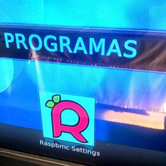 Raspbmc octubre 2014 sin Arora web browser