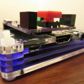 Raspberry Pi model A+ & Pibrella
