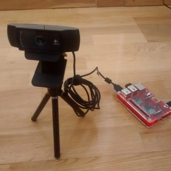 Webcam Raspberry Pi Time-lapse
