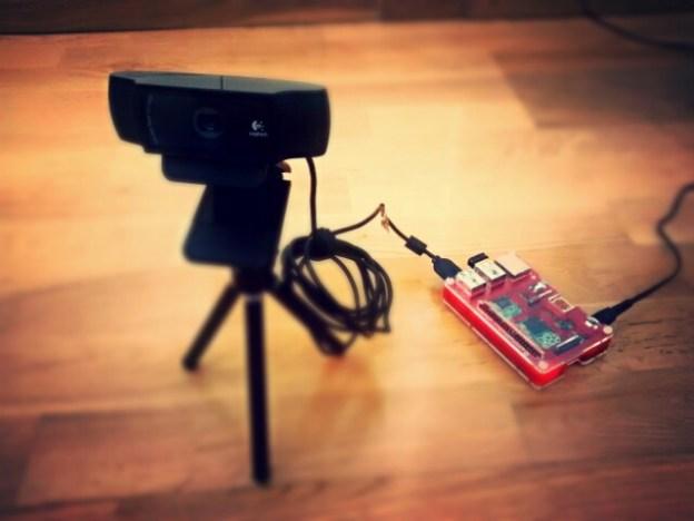 Webcam Raspberry Pi Time-lapse