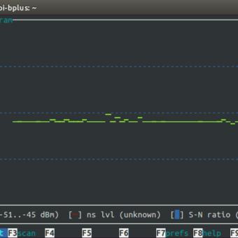 wavemon comparativa wifi raspberry