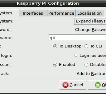 raspi-config tab1