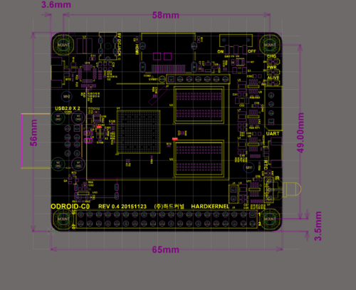 ODROID-C0_BOARD_LAYOUT
