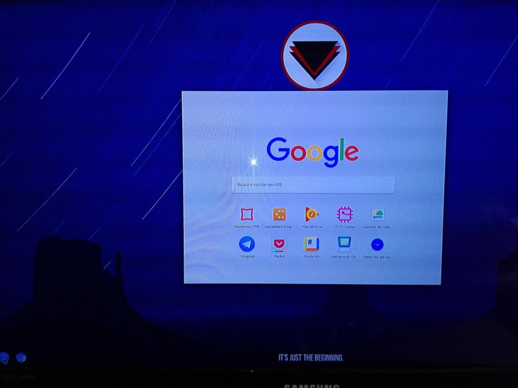 Probando Flint OS un ChromeOS para Raspberry Pi