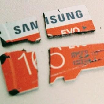 Las tarjetas recomendadas por Microsoft para Raspberry