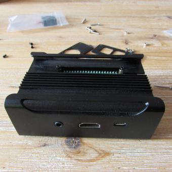 Caja aluminio Raspberry Pi