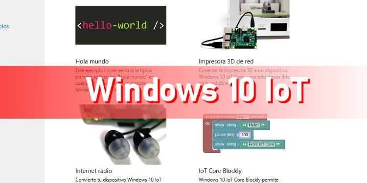 windws 10 iot