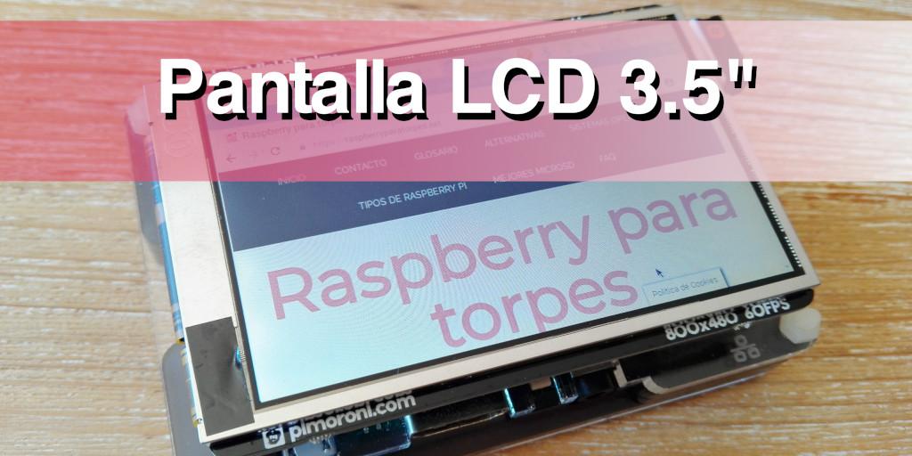 """pantalla LCD 3.5"""""""