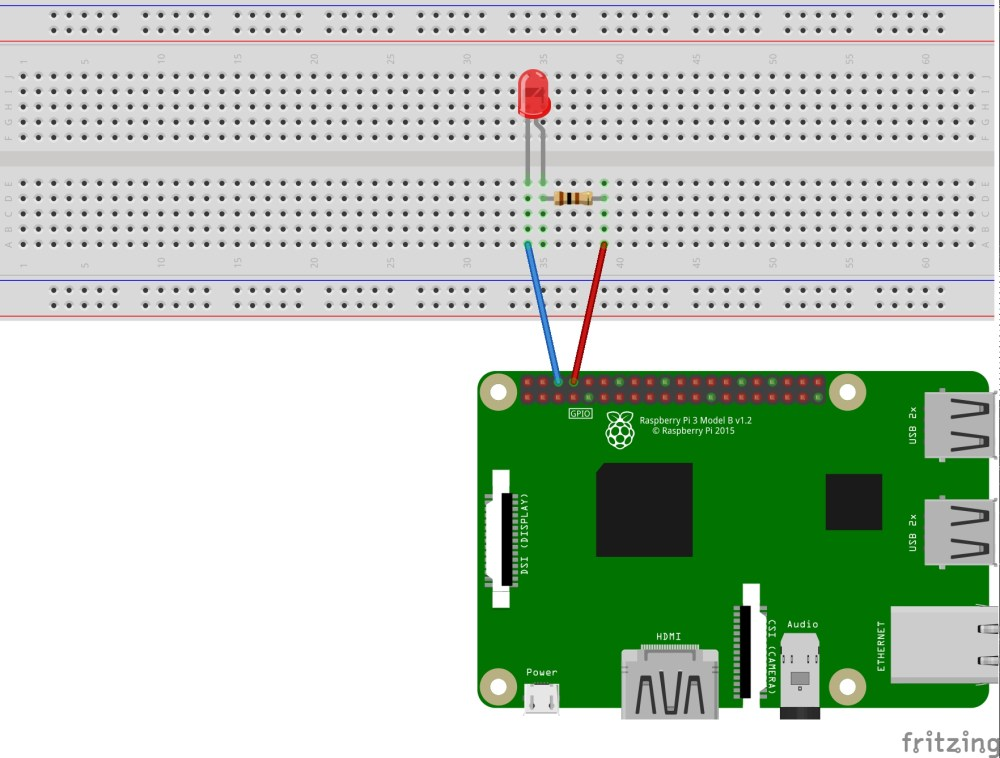 medium resolution of when hooking up the circuit note the polarity of the led you will notice that the led has a long and short lead the long lead is the positive side also