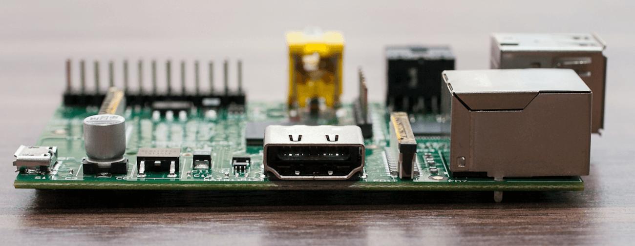 Raspberry Pi HDMI poort