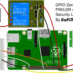 circuit for gpio zero pir ldr 12v security light [ 1728 x 1176 Pixel ]