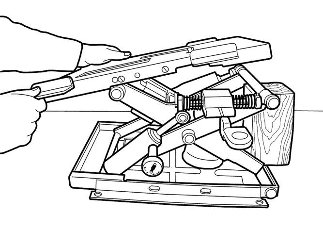 Handgun manufacturing drawings