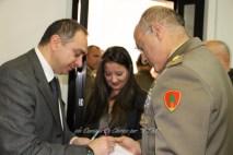 """In foto da sx Antonio Conte, Responsabile del Blog """"RSM"""" ed il Col. Emilio Motolese, Vicecomandante della Brigata Meccanizzata """"Pinerolo""""."""
