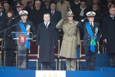 cerimonia del cambio del Capo di Stato Maggiore della Marina Militare