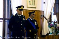 Il Gen. Vitantonio Cornio e il Ten. Col. Tudda durante la cerimonia del cambio. ph. Valentina Cosco