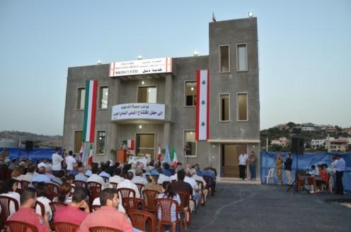 Inaugurazione edificio municipale Debel (1)