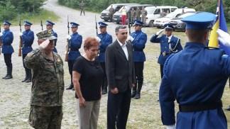 Le Autorita' Bosniache rendono omaggio ai Caduti dell'A.M.