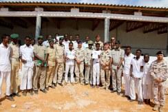 detenuti e agenti di custodia a fine corsi