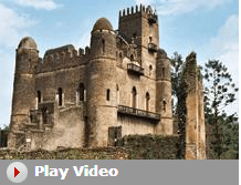 play video ethiopian castle gondar