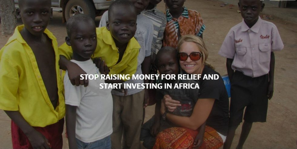 invest in africa not relief