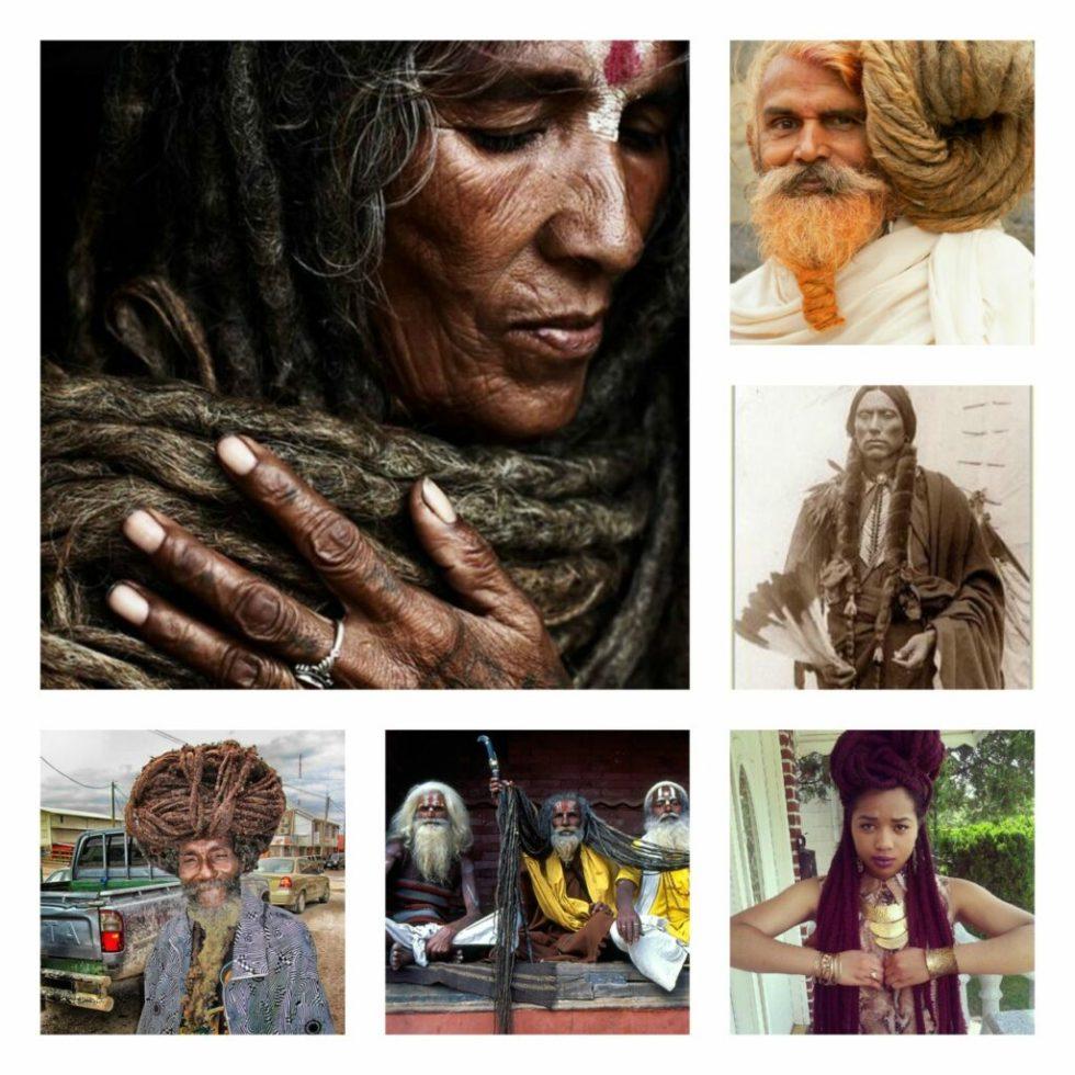Long hair spiritual receptors