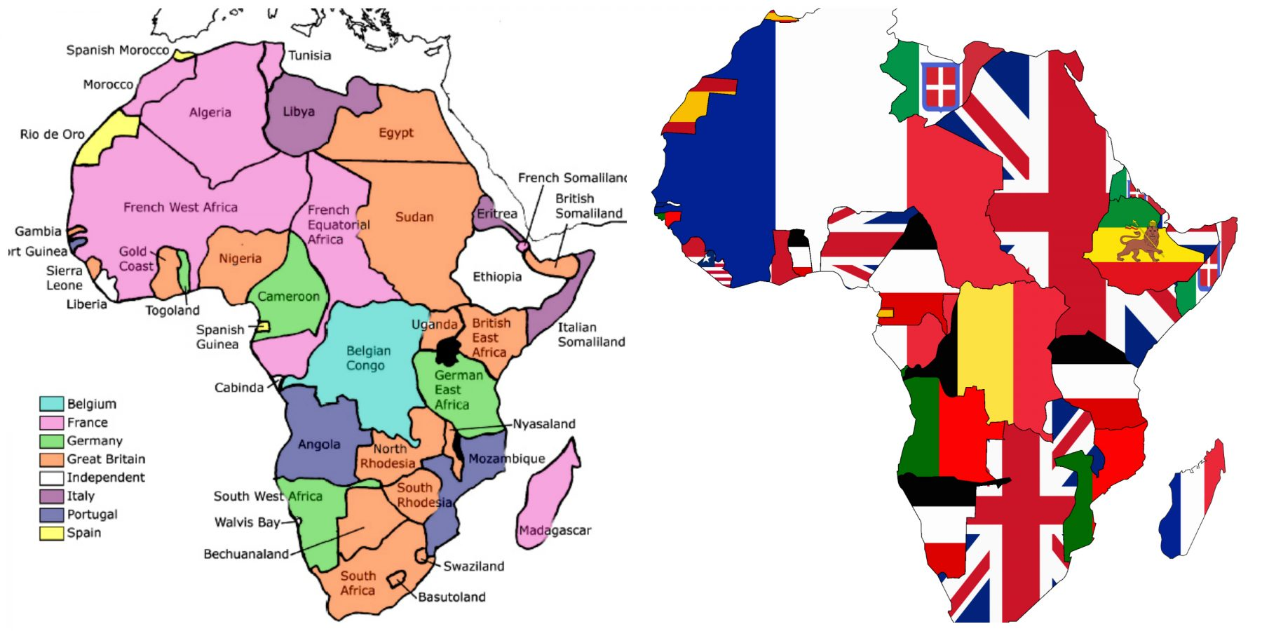 Pan African Colors and Origin of Colors Green Yellow  Red in Our